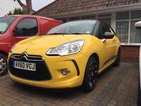 Citroen ds3 2011 yellow 1.6