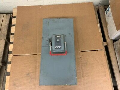 General Electric Safety Switch Model Th4324 Model 1 Voltage 240vac