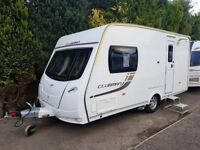 2013 Lunar Clubman CK 2 Berth Caravan MOTOR MOVER AWNING LIGHT TO TOW! REAL BARGAIN!