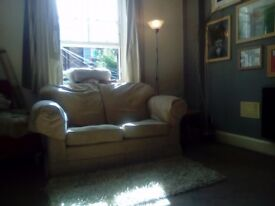 Double room in central/Meadows flat.