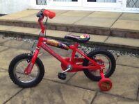 "Boys 12"" Disney cars bike"
