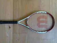 Wilson tennis racket, great condition