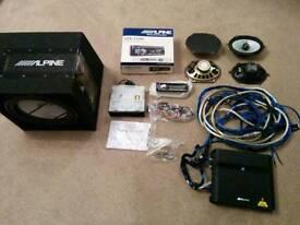 Alpine Car Audio Sound System