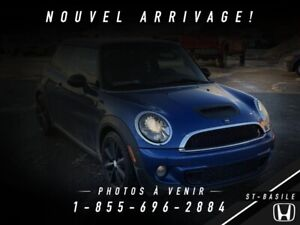 MINI Cooper 2012 COUPE S + CUIR + MAGS + CRUISE + WOW !!!
