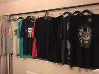 Mens T-Shirts And Sweatshirt XXL Brand New Guns N' Roses ~ ACDC ~ Nike & More