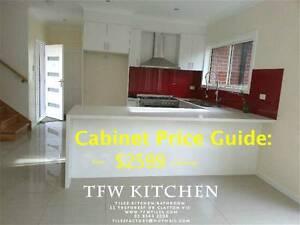 Complete Kitchen Cabinets+Polyurethane Door+QuartzStoneBenchtop Clayton Monash Area Preview