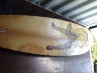 vintage art windsurfing boards