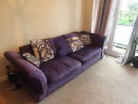 Free comfy 3 seat sofa