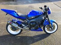 2002 Yamaha R1 Street Fighter Project