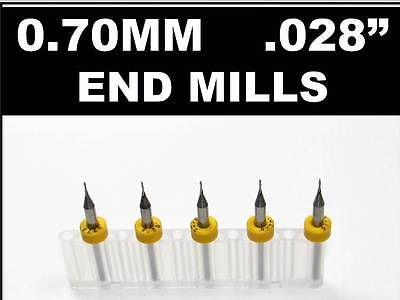 Models CNC Engraving Aluminum PCB Router N Two Flute 1.00mm Carbide Endmill