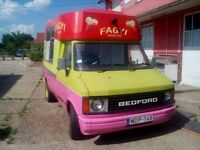FORD TRANSIT AND BEDFORD ICE-CREAM VANS FOR SALE