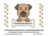 Dog Walking, Day Care and General Pet Services - South Liverpool
