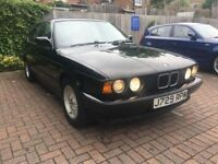 BMW 5 SERIES 520i PETROL MANUAL RED 1992 NO MOT EXPPIRED CAR WAS IN GARAGE FOR LONG TIME