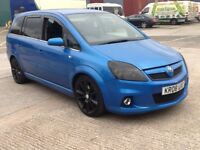 VAUXHALL ZAFIRA VXR,,,,,REDUCED,,,NO,,,OFFERS,,,