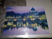 Jigsaw puzzle, can deliver