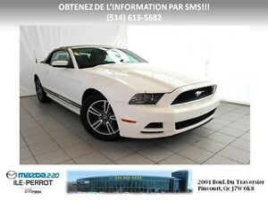 2013 Ford Mustang PREMIUM CUIR V6 CONVERTIBLE