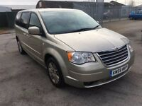 2009 Chrysler Grand Voyager 2.8 crd 7 seater Automatic, Full Mot 96k mileage