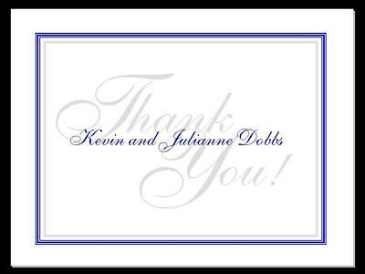 Elegant  Personalized Thank You Cards~ Note Cards ~ Great Wedding Gift