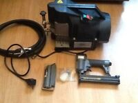 Stapler and compressor