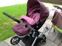 Mothercare Pram /Buggy includes all covers,rain ,parasol and net .beautiful,lovely clean .condition