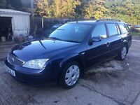 ** NEWTON CARS ** 04 54 FORD MONDEO 2.0 LX TDCI ESTATE, GOOD OVERALL, MOT MAY 2017, P/EX POSS, CALL