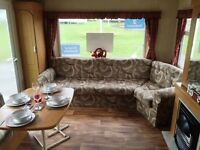 CHEAP CARAVAN AT CRESSWELL TOWERS HOLIDAY PARK MORPETH, AMBLE, NEWCASTLE,BERWICK, NORTH EAST COAST