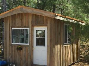 New SHEDS, BUILDINGS and CABINS