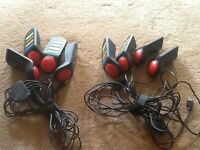 Buzz controllers for PS3/2