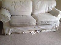 Free white sofa Coventry