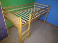 Pine Midsleeper Bed