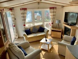 Cheap static caravan for sale, sited in Essex, double glazed and heated , Beach access