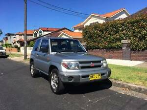 1999 Mitsubishi Pajero IO - ONE LADY OWNER SINCE BRAND NEW Five Dock Canada Bay Area Preview
