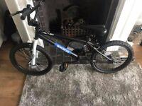 TWO NEARLY NEW BMX BIKES,ALSO MUDDYFOX MOUNTAIN BIKE