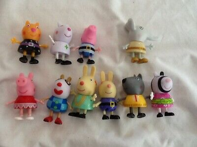 PEPPA PIG'S FANCY DRESS PARTY EXCLUSIVE Lot of 10 figures Limited Ed Halloween