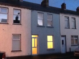 TO LET EXCELLENT 2 BEDROOM HOUSE IN PORTADOWN JERVIS ST CLOSE TO TOWN CENTRE,OFCH PVC DOUBLE GLAZING