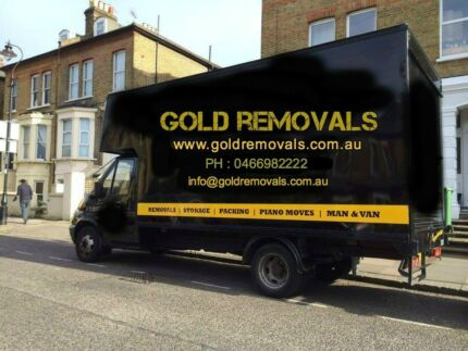 $34.99/ PHH TRUCK & 2 MEN GOLD CHEAP MOVERS,REMOVAL MELBOURNE