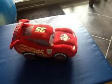 lightning mcqueen soft car from the disney shop - like new Pennington Charles Sturt Area Preview
