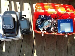 Fishing electronics: camera and fish finders