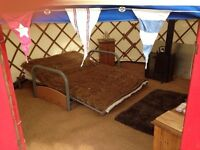 beautiful 12ft canvas yurt for sale
