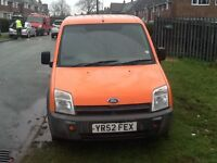 Ford. Transit. Connect. Van. T200 tddi. Swb. 2002