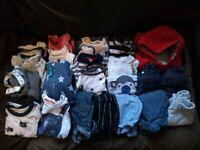 Baby boys tiny clothes bundle