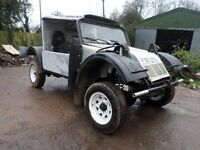 CUSTOM BUILT 4X4 OFFROADER THATS ROAD LEGAL AND TAX EXEMPT HIS 4X4 WILL GO ANYWHERE
