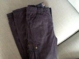 Fat face boys cargo trousers