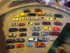 40 toy cars