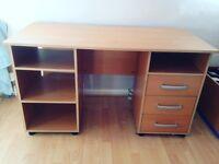 Desk / Storage. Good Condition. (smoke free house)