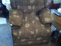 RISE AND RECLINE ELECTRIC CHAIR LARGE