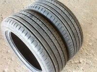 TYRES 225/40/18 AS NEW FULL TREAD FEW WEEKS OLD EXCELLENT CONDITION £30 each