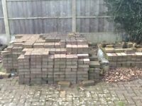Block paving for sale.