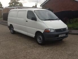2005 TOYOTA HIACE 300 GS L.W.B. FULL SERVICE HISTORY FROM NEW, 1 OWNER FROM NEW, DRIVES BRILLIANT