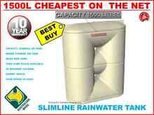 1500 LTR RAIN WATER TANK - BUILD PUMP OPTION AVAIL-CALL NOW Auburn Auburn Area Preview